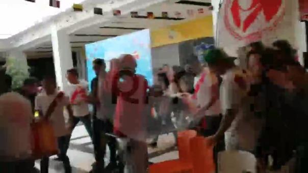 Así celebraron en Cusco el segundo gol de Perú.