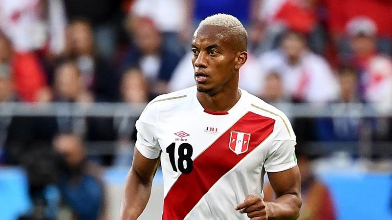 André Carrillo fue titular en los tres partidos que jugó Perú durante Rusia 2018