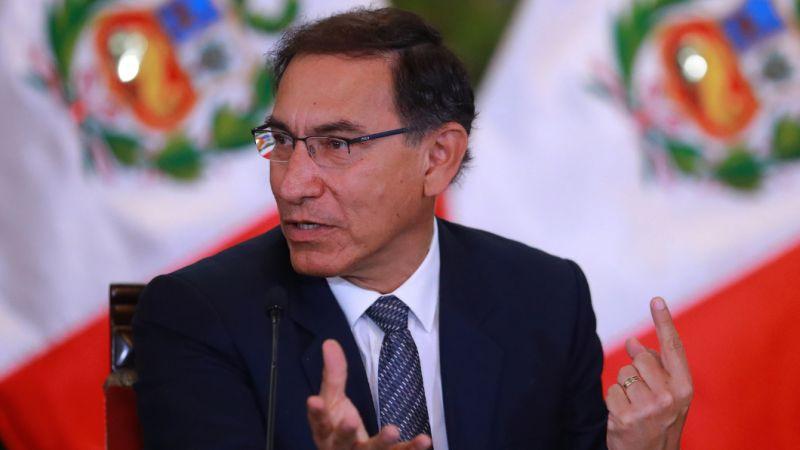 Martín Vizcarra respondió a las declaraciones de Keiko Fujimori sobre la 'Ley Mulder'.