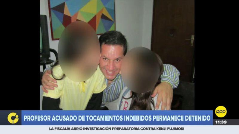 Julio Alegría Cueto fue denunciado de acosar y realizar tocamientos indebidos a su alumna de la USMP.