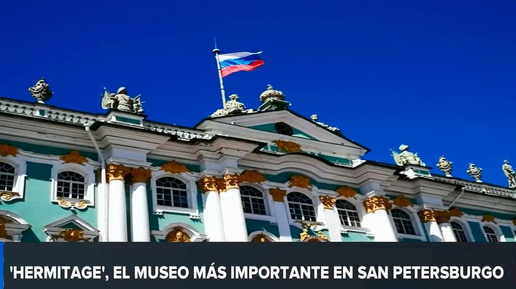RPP Noticias visitó el museo del Hermitage en San Petersburgo.