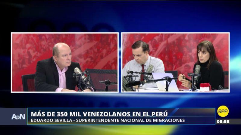 La migración venezolana en Perú ha aumentado, pero la cifra no se acerca siquiera al más de un millón de venezolanos que han migrado a Colombia.