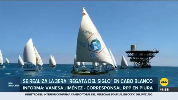 Evento buscó resaltar la labor de los pescadores que conservan la navegación en vela y pesca sostenible en esta parte de la región Piura.