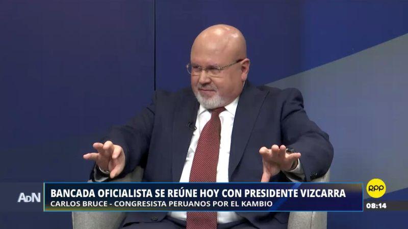 Carlos Bruce estuvo esta mañana en Ampliación de Noticias.