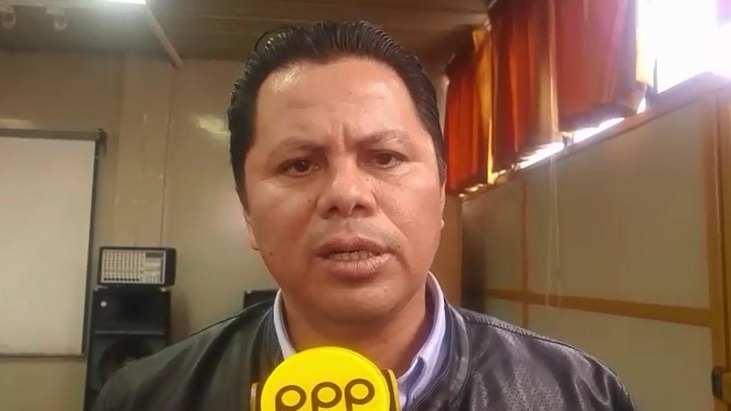 El gerente regional de Salud de La Libertad, Eduardo Araujo, señaló que la vacuna contra la Influenza es anual.