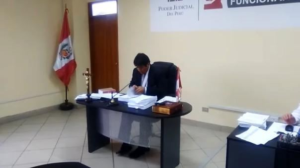 El Décimo Juzgado de Investigación Preparatoria Especializado en Delitos de Corrupción de Funcionarios ordenó prisión preventiva