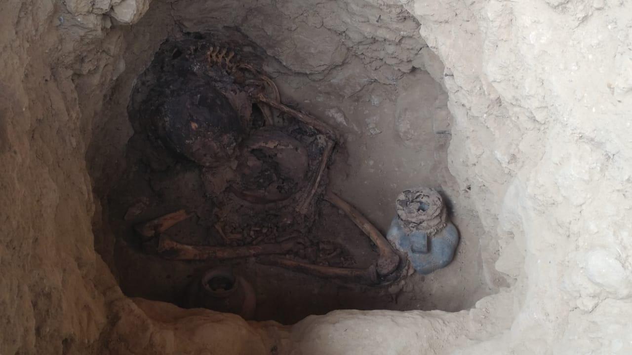 Entierros humanos tienen una antigüedad de 1470 años