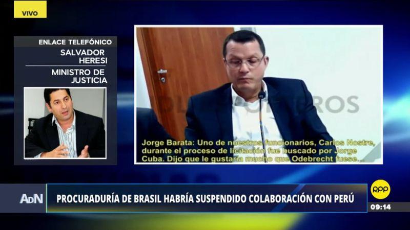 Salvador Heresi estuvo esta mañana en Ampliación de Noticias.