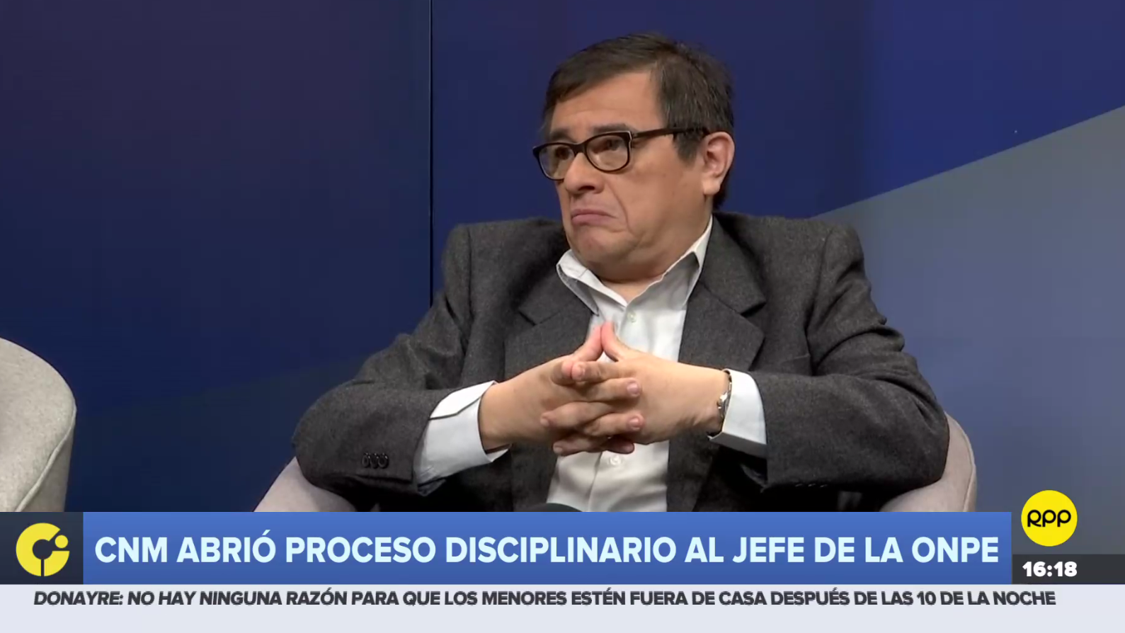 Adolfo Castillo, jefe de la ONPE, está implicado en un presunto caso de favorecimiento al partido Podemos Perú.