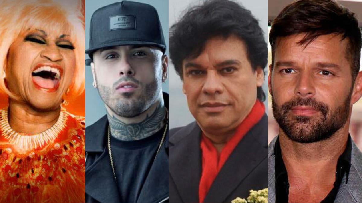 Serie artistas latinos