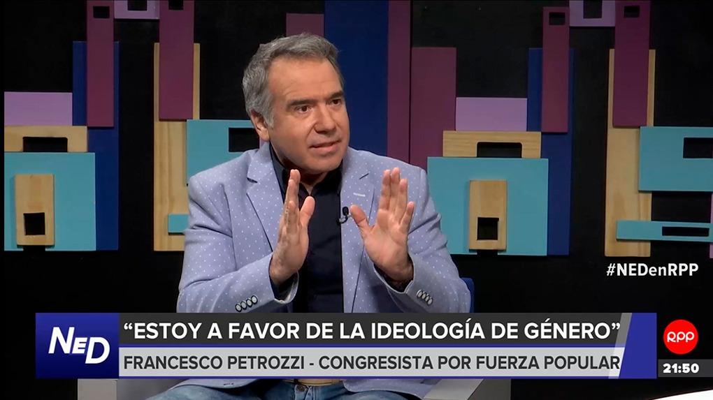 Francesco Petrozzi, congresista de Fuerza Popular.