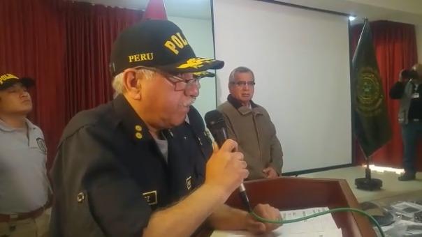 Miguel Núñez, general PNP de la Unidad de Casos de Alta Complejidad.