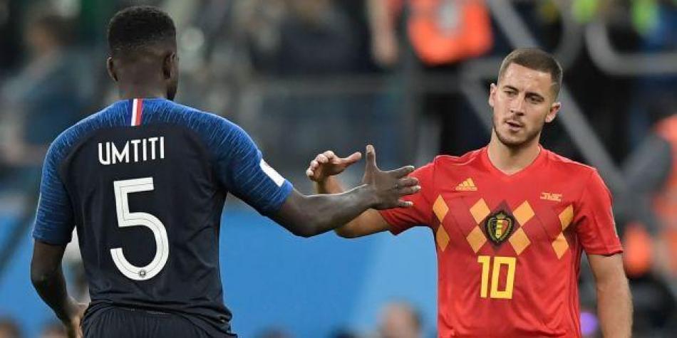 Eden Hazard criticó el juego de Francia tras las semifinales del Mundial.