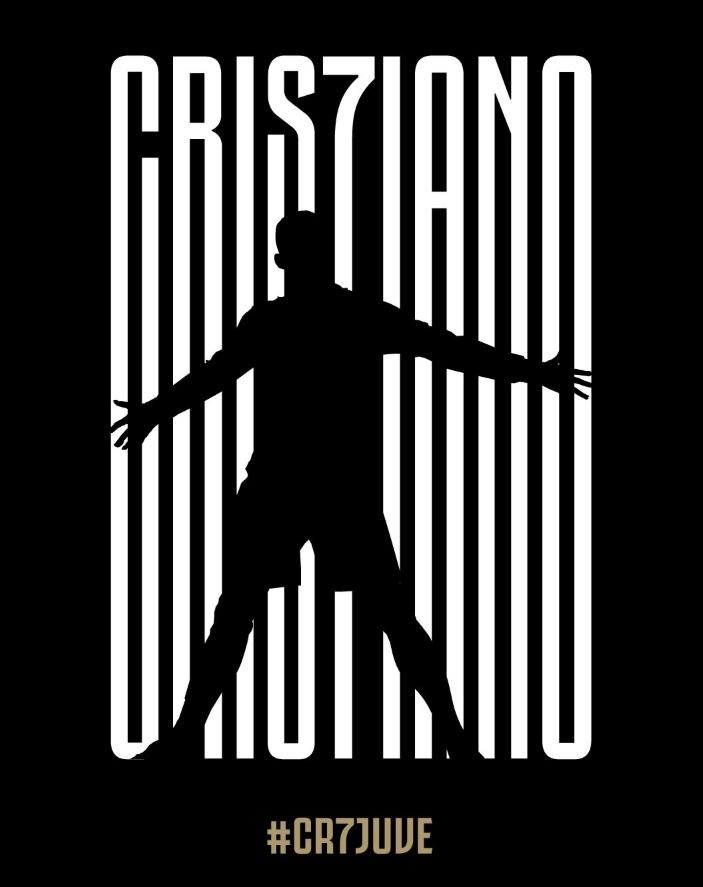 La imagen de Juventus anunciando el fichaje de Cristiano Ronaldo.