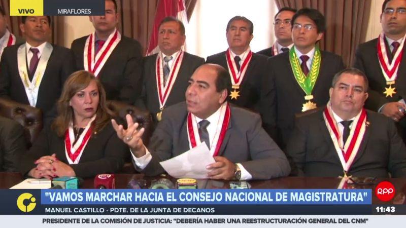 """""""Debemos separar la paja del trigo"""", dijo Manuel Castillo Venegas."""