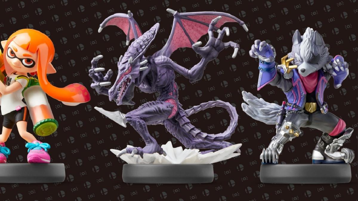 Tres nuevos amiibos se lanzarán junto a Super Smash Bros Ultimate.