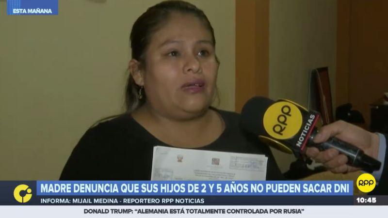 A través de RPP Noticias, Julia Torres Caycho pidió al Reniec una solución a su problema.