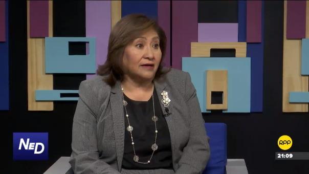 Ana María Choquehuanca  fue ministra de la Mujer entre julio de 2017 y abril de 2018.