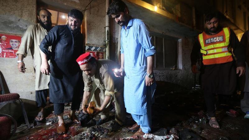 El Estado Islámico asumió la autoría de este atentado terrorista.