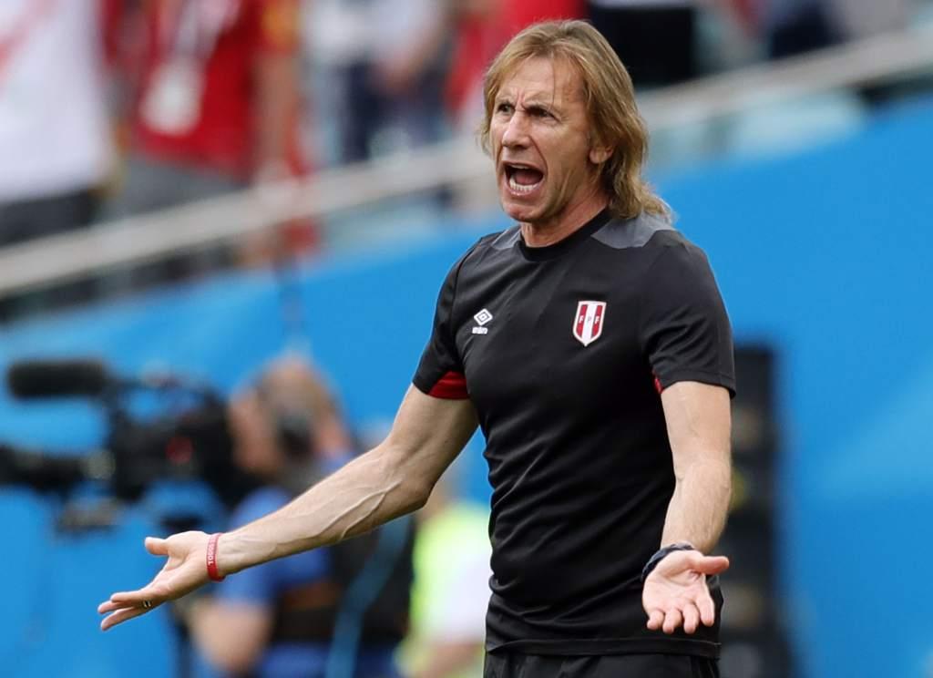Perú fue la primera experiencia de Ricardo Gareca como entrenador de una selección.