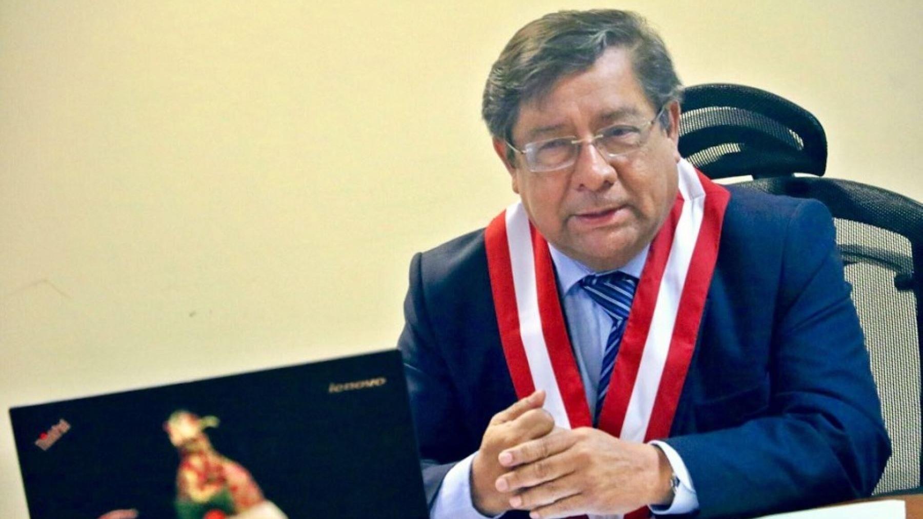 Velásquez es presidente de la institución desde el 21 de febrero de este año.
