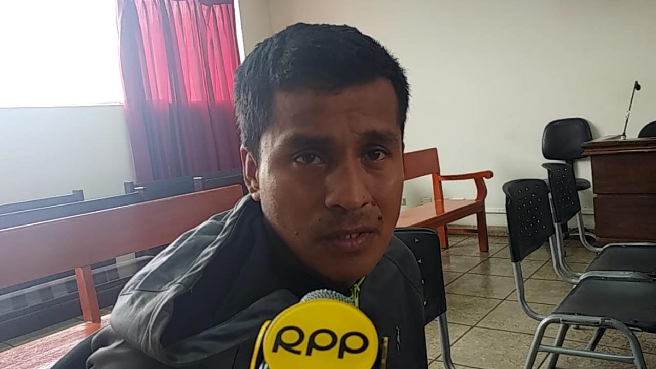 Rony Manuel Prada Clavo (31), dijo que su intención no fue matarla.