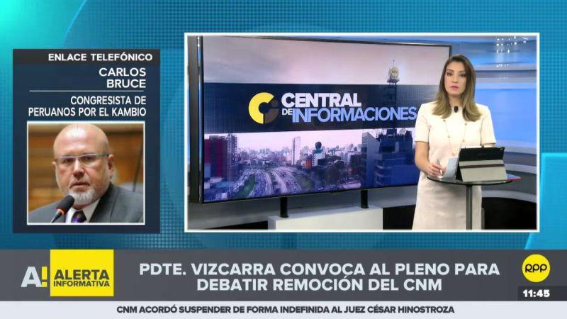 El congresista de Peruanos por el Kambio respaldó la decisión de Martín Vizcarra.