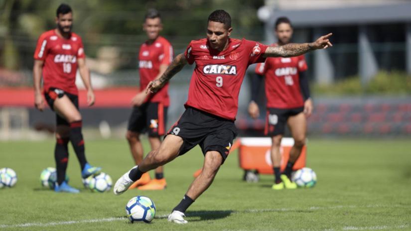 Paolo Guerrero milita en el Flamengo desde el 2015.