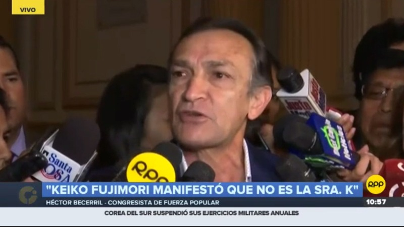 Héctor Becerril negó reunión antes de la difusión de audios.