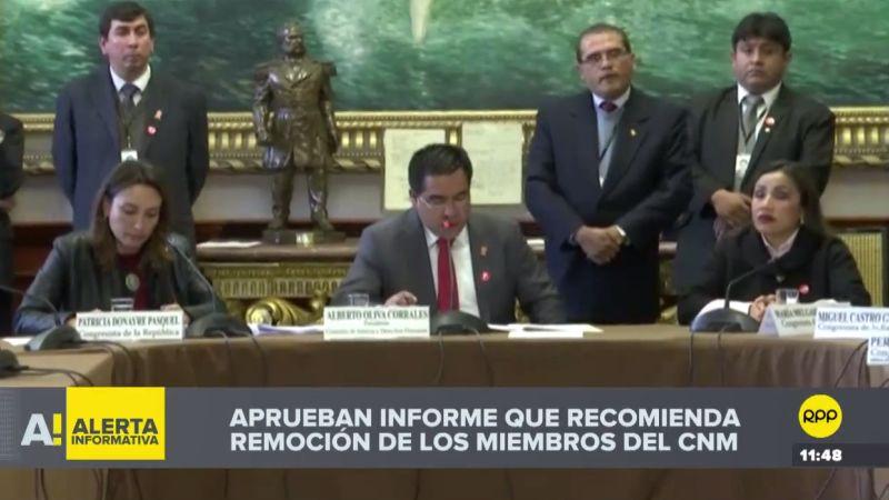 El informe será discutido en la sesión extraordinaria del Pleno, convocada para este viernes.