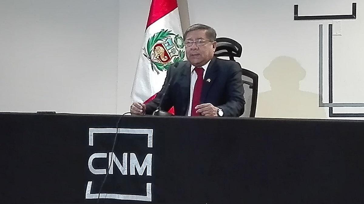 Velásquez señaló que no hay condiciones para participar en una reforma del CNM.