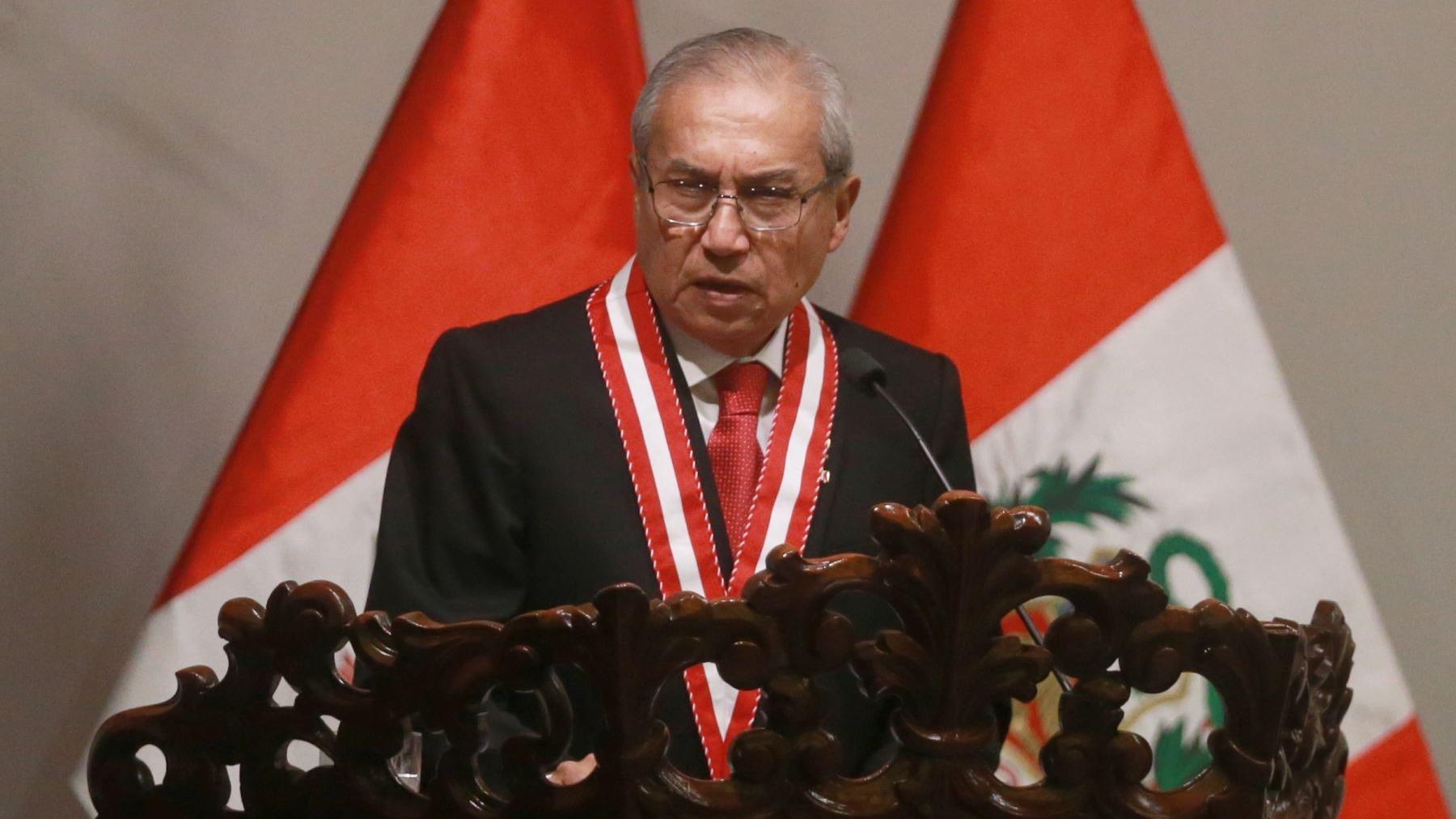 Pedro Chávarry juró como nuevo Fiscal de la Nación.