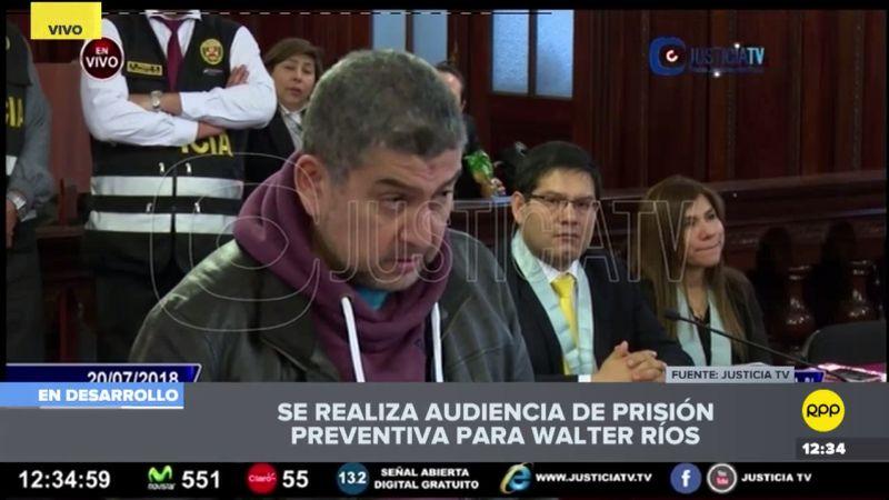 El Ministerio Público ha solicitado 36 meses de prisión preventiva contra el expresidente de la Corte Superior del Callao.