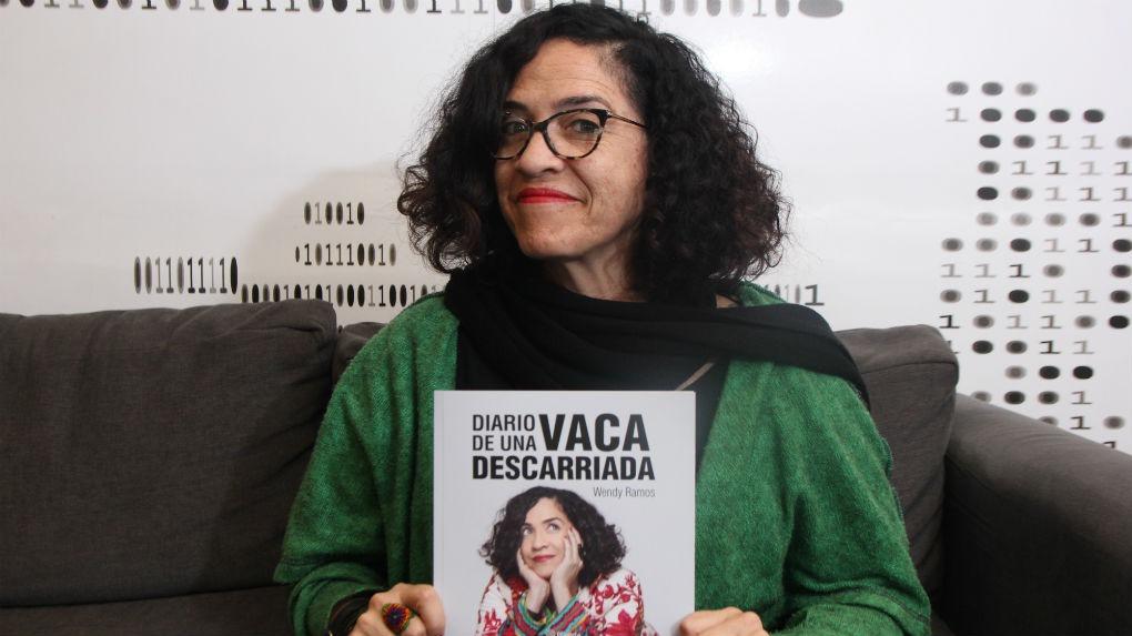 Wendy Ramos presenta su primer libro