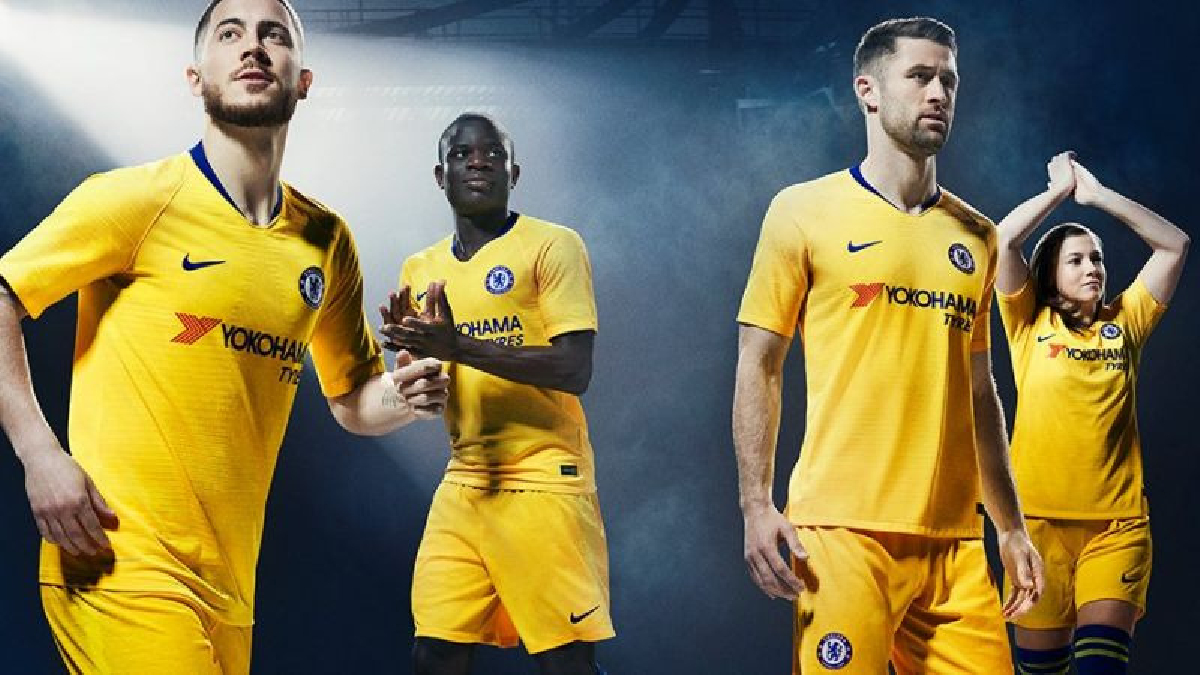 El club londinense mostró su uniforme alterno, que será de color amarillo.