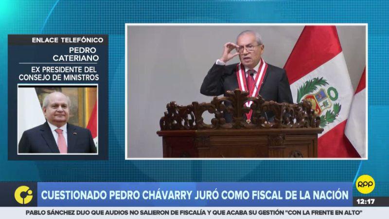 Pedro Cateriano denunció que la Ley Orgánica del Ministerio Público no se ha cumplido.