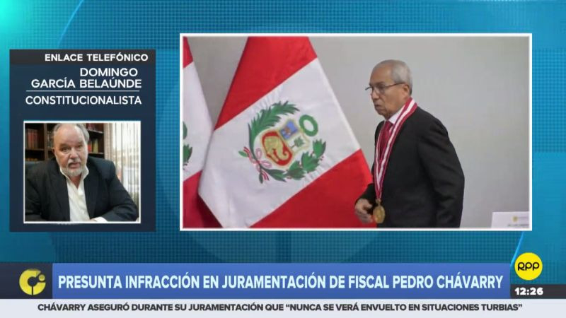 Domingo García Belaunde consideró que la Ley Orgánica del Ministerio Público debe ser modificada.