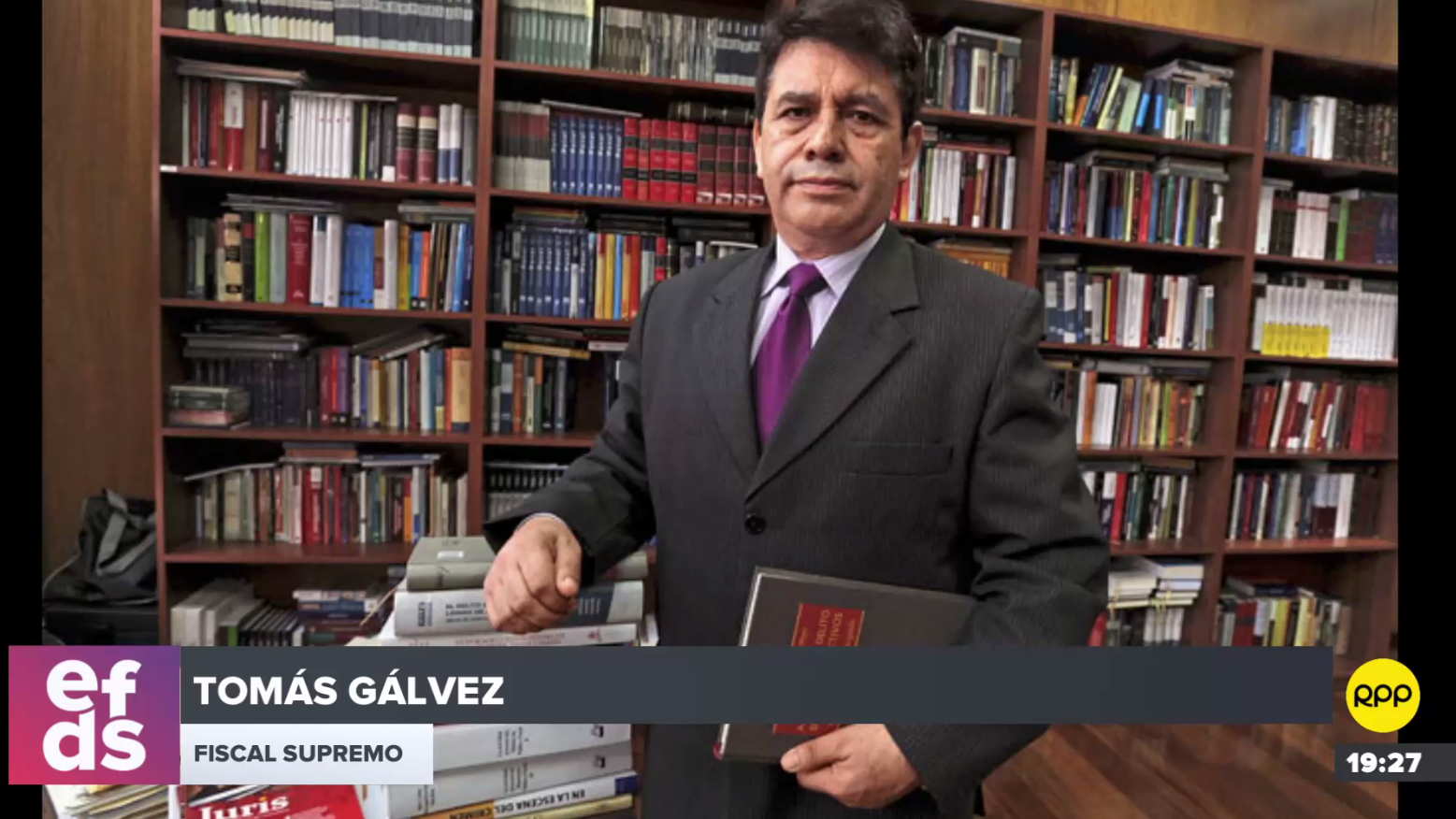 Fiscal Supremo Tomás Gálvez indicó que la juramentación de Chávarry como fiscal de la Nación no fue irregular.