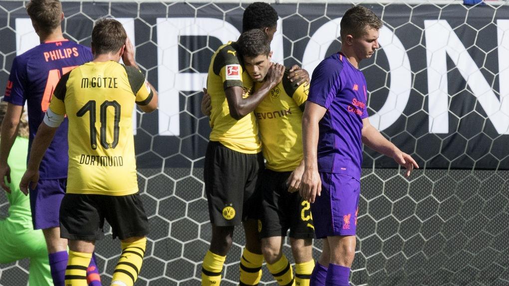 Borussia Dortmund venció en su primer duelo de la ICC a Manchester City.