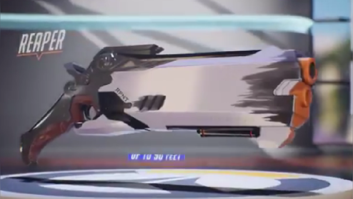 El arma de Reaper es la primera de una línea de productos basado en Overwatch.