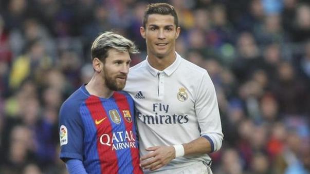 Lionel Messi y Cristiano Ronaldo fueron rivales en la Liga de España.