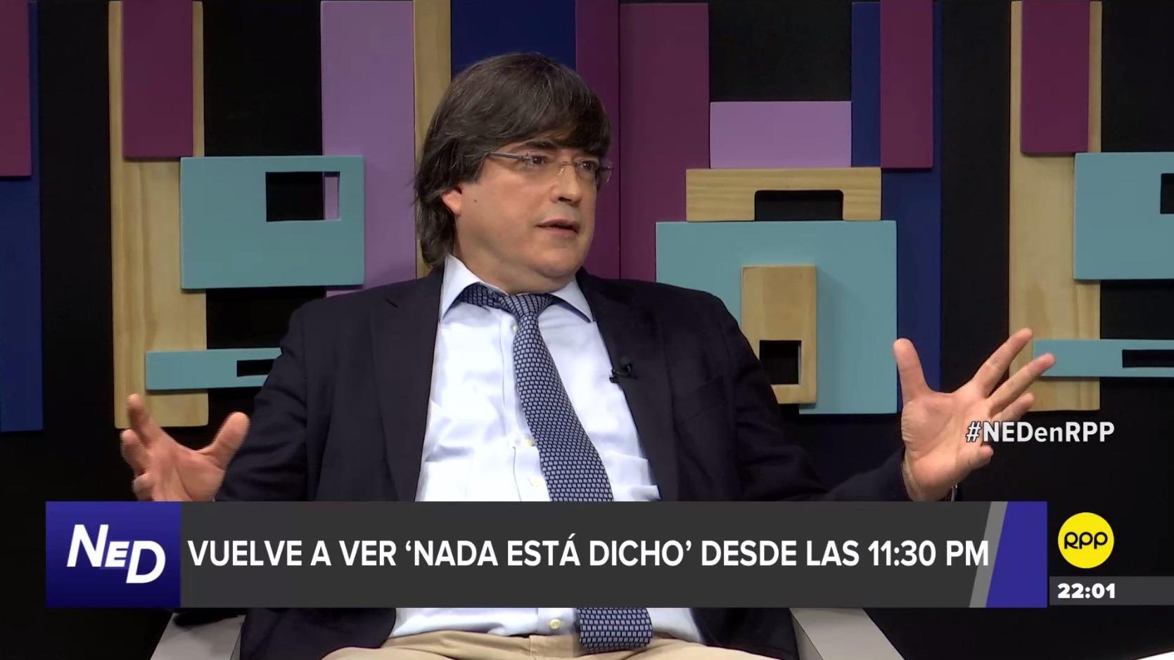 Jaime Bayly en Nada Está Dicho.