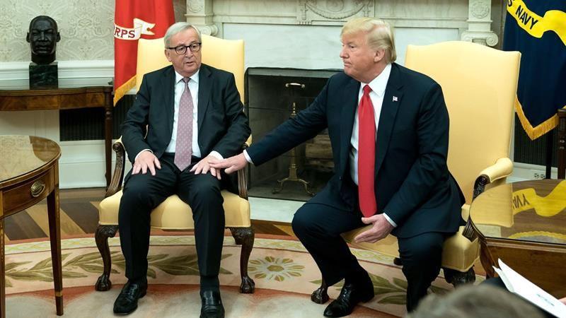 El Gobierno alemán saludó el acuerdo entre Jean-Claude Juncker y Donald Trump.