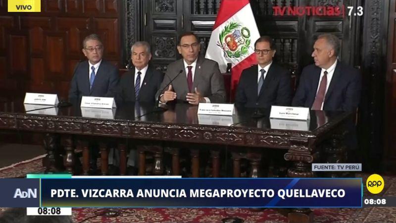 """El presidente destacó que este megaproyecto cumplirá """"los altos estándares ambientales"""" del Perú."""