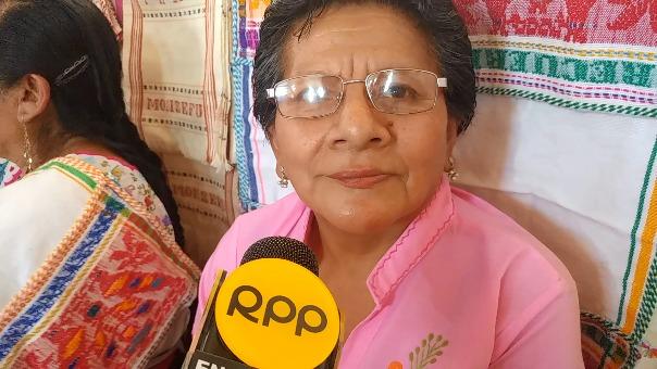 Artesana de Monsefú invitó a participar del Fexticum.