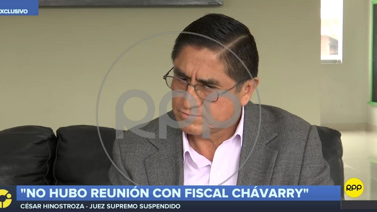 César Hinostroza aseguró que responderá ante el fiscal de la Nación sobre la identidad de la Señora K.
