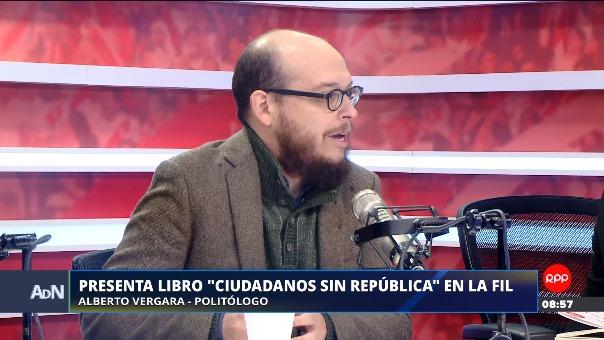 Vergara presenta libro 'Ciudadanos sin República'.