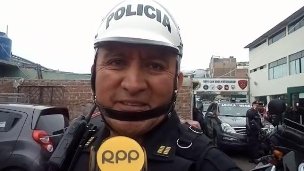 Segundo Ramos Dávila agradeció a la institución policial.