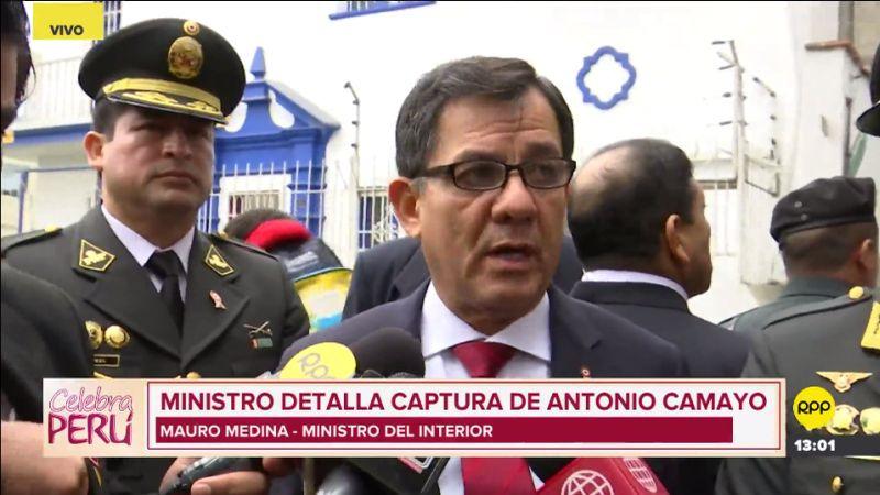 Mauro Medina habló con RPP Noticias tras presenciar la Parada Militar por Fiestas Patrias.