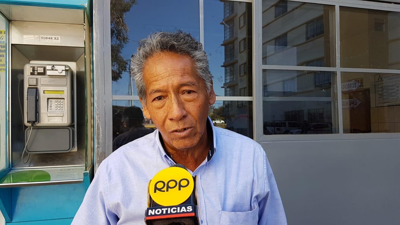 Martín Gutiérrez Aguilar, salvó a una joven que intentó suicidarse en el puente Chilina de Arequipa.